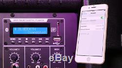 Paire Vocal-star De 15 Haut-parleurs Bluetooth Mp3 De Set Dj Karaoke Pub Disco