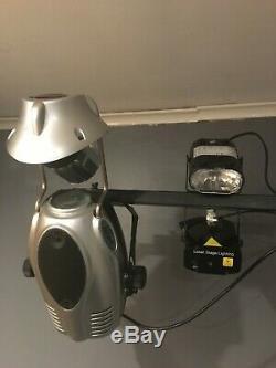 Plein Mobile Dj / Disco Set De Pa De Haut-parleurs, Supports, Lumières, Machine À Fumée, Laser