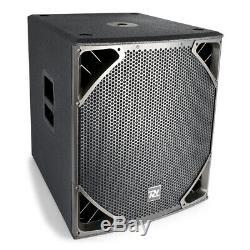 Powered Actif Pa Subwoofer 18 Pouces Passe-haut-parleurs Bass Dj 1400w Disco Club