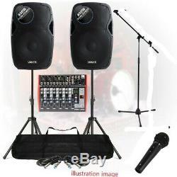 Powered Active Enceinte De Sonorisation Pour Son Installation Mobile Dj Disco