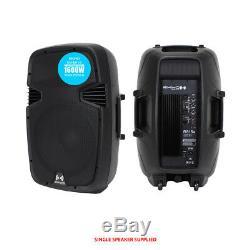 Pro Rs15 V3 Haut-parleur Actif 15 Pouces 1600w À 2 Voies Dj Disco Pa Club Loud Gratuit P & P