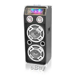 Pyle Psufm1035a 1000 Watt Disco Jam Powered Bidirectionnelle Bluetooth Speaker System