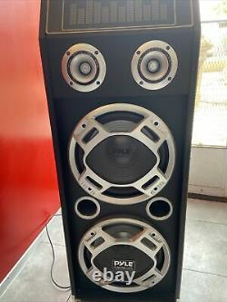 Pyle Psufm1035a Disco Jam 1000 Watt 2 Way Haut-parleur Bluetooth Dj Avec Lumières Led