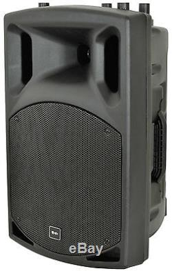 Qtx Qx15a 15 Active Pa Enceintes Dj Disco Sound System 500w B-stock