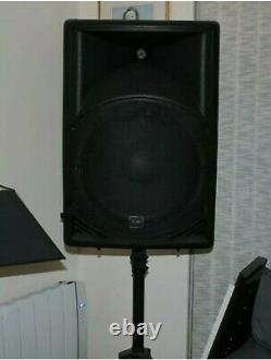 Qtx Sound Qs15a 15 1400w Active Powered Disco Dj Pa Abs Haut-parleurs Paire