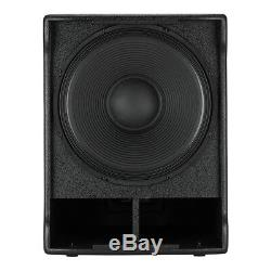 Rcf Active Sub-705 Asii 15 1400w Dj Disco Subwoofer Band Pa