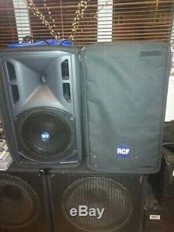 Rcf Art310 Haut-parleurs Actifs Pour Disco / Bande / Karaoké