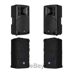 Rcf Art312-a (mk4) Active Speaker Package 1600w Dj Disco Pa Sound System