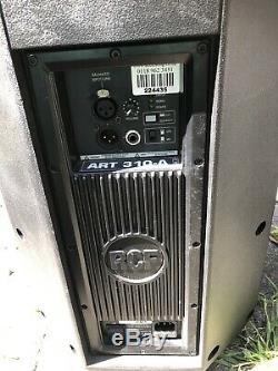 Rcf Art 310-a mk3 Active Speaker Pa Disco, Rembourré De Couverture, Jamais Joué Dur