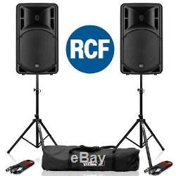 Rcf Art 315-a Mk4 15 Haut-parleurs De Sonorisation À Bande Dj Disco Active 2 Canaux 800w