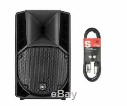 Rcf Art 710-a 10 Mk4 1400w 2-way Dj Disco Active Powered Pa Speaker + Free Xlr
