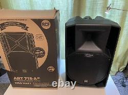 Rcf Art 715-a Mk4 15 1400w 2-way Active Dj Disco Club Band Pa Speaker Nouveau