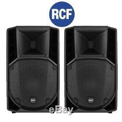 Rcf Art 732-a 12 Mk4 1400w Powered Actif Dj Disco Scène Haut-parleurs (paire)