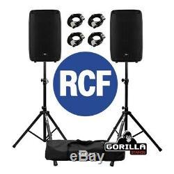 Rcf Hd 15-a 15 700w Rms 2-way Active Dj Disco Club Bar Pa Président (paire)
