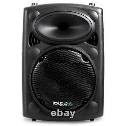 Reconn. Pro Sono Portable Ibiza Port8vnh-bt Enceinte Active Dj Pa Disco Usb S