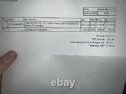 Single (1) Kam Rz15a V3 15. 1 200w Dj Disco Speaker