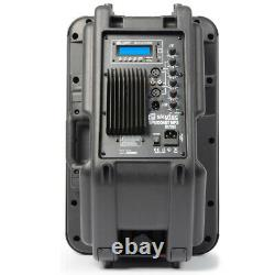 Skytec 12 Active Bluetooth Disco Dj Haut-parleur Portable Pa Wedge Monitor 600w