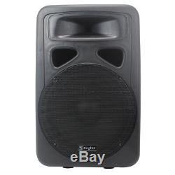 Skytec Sp1500a 15 Moniteur Compensé 800w Dj Disco Pa Avec Amplificateur Actif