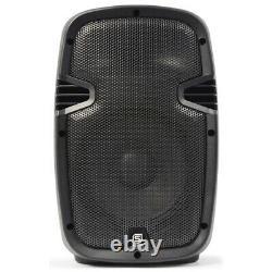 Skytec Spj-800a Hi-end 8 Pouces Active Powered Dj Disco Pa Party Abs Speaker 200w
