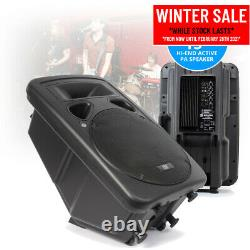 Sp1500a 15 Pouces Active Powered Speaker Home Disco Pa Dj Stage Monitor Eq 800w