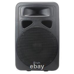 Sp1500a 15 Pouces Speateur Protiléée Activée Maison Disco Pa Dj Stage Monitor Eq 800w