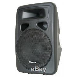 Sp1500abt 15 Pouces Active Haut-parleur Bluetooth Accueil Dj Disco Pa Moniteur Eq 800w