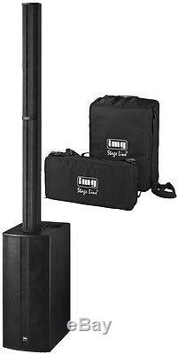Stageline C-ray / 8 Tableau Haut-parleur Actif Colonne 800w Sound System Dj Disco Ensemble