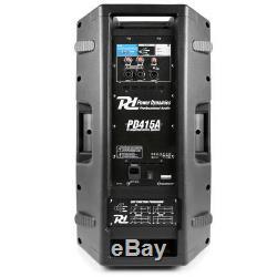 Système De Disco Professionnel Bi-amplifié Pour Haut-parleur Dj Actif, Bluetooth 15 1400w