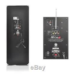 Système De Haut-parleurs Amplifiés Actifs Bluetooth Disco Jam 2, Lumières Dj Clignotantes