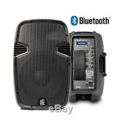 Système De Haut-parleurs Bluetooth Active Usb Mp3 12 Woofer 600w Vonyx Dj Disco Party