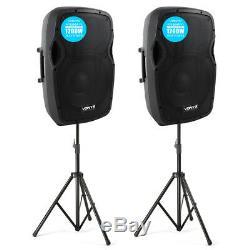 Système De Son Disco 2 Haut-parleurs Actifs Pro Ap1200a 2400w Ipp 12 Pa Dj
