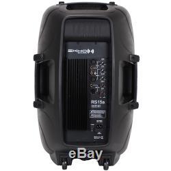 Système De Son Disco Dj1500a V3 HP Enceinte Active 1600w Ipp 15w