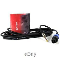 Système De Sonorisation Actif Dj Disco 2.1 Set De Haut-parleurs Avec Subwoofer Et Câbles
