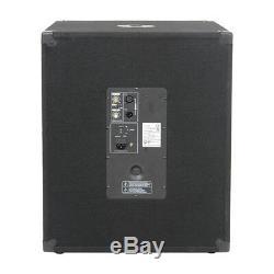 Système De Sonorisation De Haut-parleurs Actifs 4000w Dj Dj Disco 4x1515