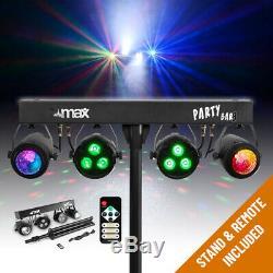 Terminer Pa Système Actif Haut-parleurs Avec Partybar Par Lune Disco Lumières De La Scène