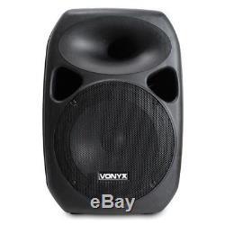 Un Système De Son Portable Avec 12 Haut-parleurs Actifs Disco Pa