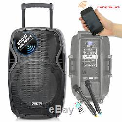 Vonyx 15 Party Dj Actif Bluetooth Disco Président + Soundsak Président Carry Bag