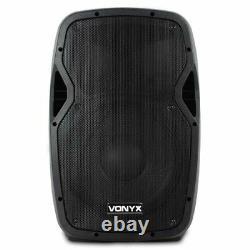 Vonyx Active Powered Hi-end Pa Speaker Ap Series 12 Inch Dj Party Disco 600w Max