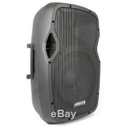 Vonyx Ap1200abt Active 12 Bluetooth Sono Amplifiées Dj Disco Speaker System 300w