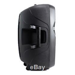 Vonyx Haut-parleur Actif Bidirectionnel De 15 Pouces Pour Dj Disco Pa Bluetooth Mp3 Usb 800w