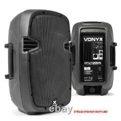 Vonyx Sjp1000ad V3 Active 800w 10 Dj Disco Pa Speaker (paire) Avec Stands