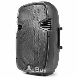 Vonyx Spj-1500a 15 Haut-parleur Portable Actif Powered Système De Sonorisation Dj Disco 800w