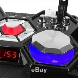 Vs10 Dj Actionné Actionné Disco Bluetooth Haut-parleurs Dj Set Avec Lumières Led 800w