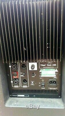 Whafedale Pro Titan A15 Caisson De Grave Actif, Bassbin 400w, Disco, Pub, Fête, Pa