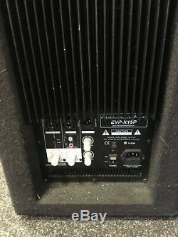 Wharfedale Pro-evp X15p Actif 15 Président 400w Rms Dj Disco Club Band Pa-15 Evp